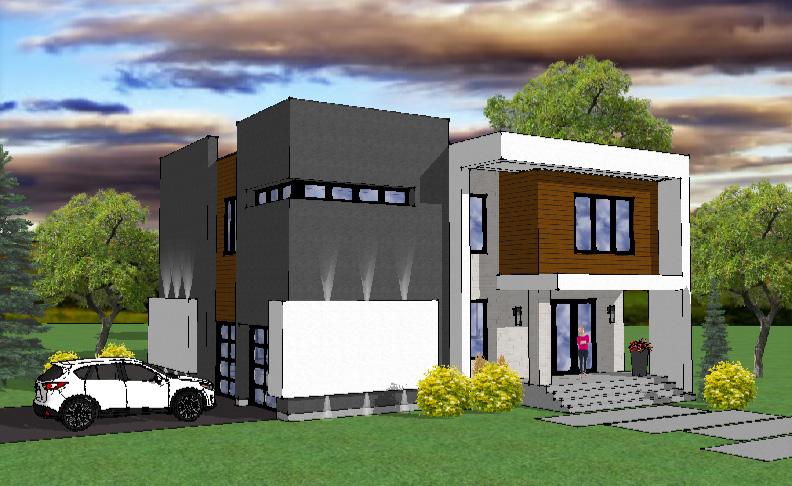 Maisons modèles - Construction Yann Thibodeau